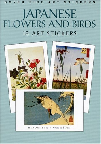 Japanese Birds and Flowers (Dover Art Stickers)