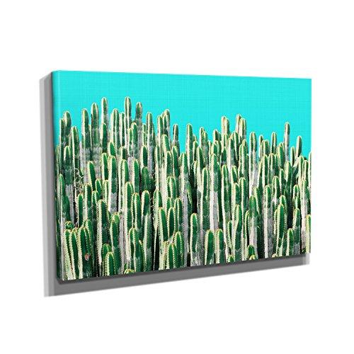 kakteen-kunstdruck-auf-leinwand-50x75-cm-zum-verschnern-ihrer-wohnung-verschiedene-formate-auf-echth