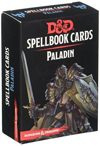 Gale Force Nine GF973919 - Brettspiel Dungeons und Dragons: Paladin Spell Deck