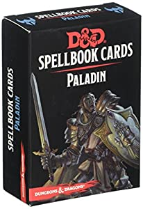 Gale Force Nine LLC- Paladin Deck Dungeons & Dragons Spell Book Tarjetas, Multicolor (73919)