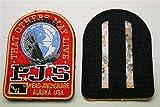 Parajumpers Rot PJS Patch Aufnäher Mantel Jacke Long Klett Logo Emblem Long Bear