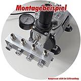 Airbrush Druckluftverteiler 4-fach - 2