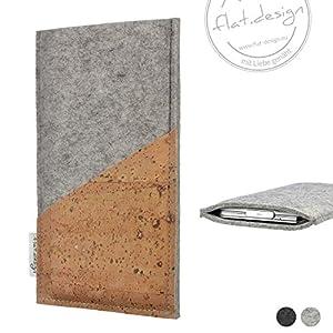 Handyhülle EVORA – Filz Kork Tasche made in Germany
