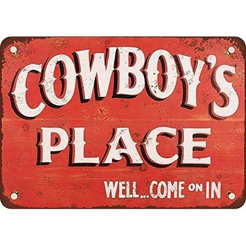 Luogo Del Cowboy stile vintage Riproduzione in