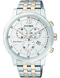 Citizen Herren-Armbanduhr Chronograph Quarz Edelstahl AT2305-81A