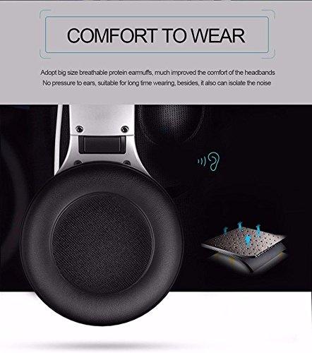 Longteng Zealot Wireless Bluetooth Headset Noise Cancellation 3D Stereo LCD Kopfhörer. Schwarz - 7