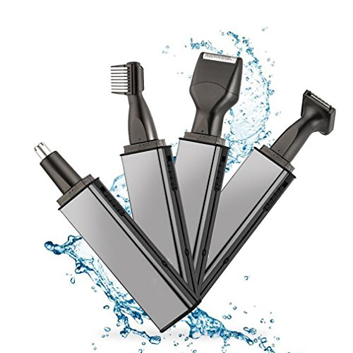 SHAVER 4 In 1 Multifunktions Männer Elektrorasierer Rasierapparat Nasen-Ohr-Haar-Trimmer Painless Frauen Trimmen Augenbrauen Bart Haarschneider Rasierer -