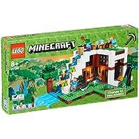LEGO - 21134 - Minecraft - Jeu de Construction - La Base Sous La Cascade