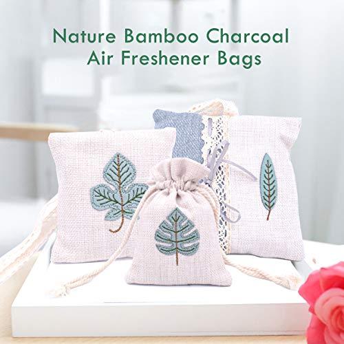 Hapree - Bolsa purificadora de Aire Natural, Reutilizable, con ambientador Activado de carbón de...