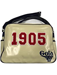 6dba10f5c7 Gola Redford University Airline Messenger Bag Retro 1905 Beige