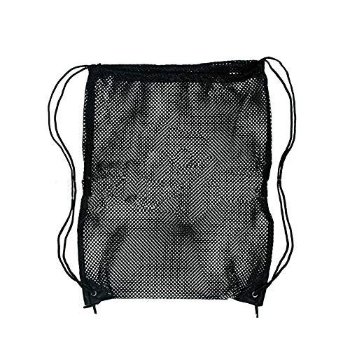 Fatalom Netztasche mit Kordelzug aus Netzstoff für Wäsche, Schwimmen, Fitnessstudio, Schule -