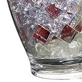 Bar Craft Doppel-Flaschenkühler aus Acryl, durchsichtig - 3