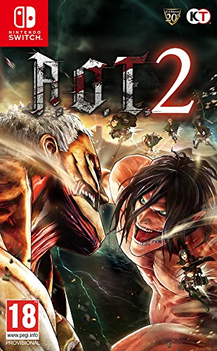 Attack On Titan 2, NINTENDO SWITCH (precio: 54,90€)