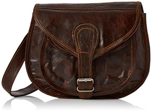 4e12dc0bc4 Gusti Leder nature Romy Genuine Leather Handbag Cross Body Shoulder Bag  Everyday Satchel City Party Weekend Festival Bag Vintage Brown M23 - Buy  Online in ...