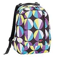 2 en 1 SEVEN - THE DOUBLE FUNNY - sac à dos reversible - Violet Bleu Noir - 27 LT - avec casque stéréo! nouveau