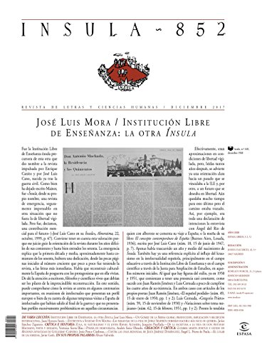 Misceláneo  (Ínsula n° 852, diciembre de 2017) (Misceláneas) por AA. VV.