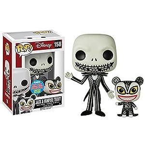 Funko Pop Jack Esquéleton y Vampiro Teddy (Pesadilla Antes de Navidad 158) Funko Pop Disney