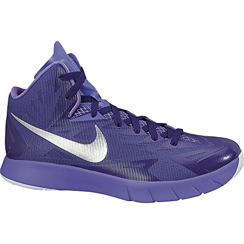 Mens Lunar Hyperquickness Tb Chaussures de basket purple