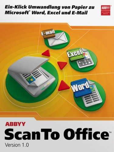 Abbyy Scan To Office 1.0 (1 Scan-tool)