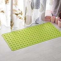 Bubble Bath gomma antiscivolo tappetino wc kitchen zerbino multi-colore-size , luce verde ,40*70cm forza