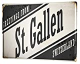Metal Sign 12x16 Inches Poster Plaque Tin Plate Vintage