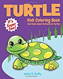Turtle Kids Coloring Book +Fun Facts about Tortoises & Turtles: Children Activity Book for Boys & Girls Age 3-8, with 30 Super Fun Coloring Pages of ... Volume 5 (Gifted Kids Coloring Animals)