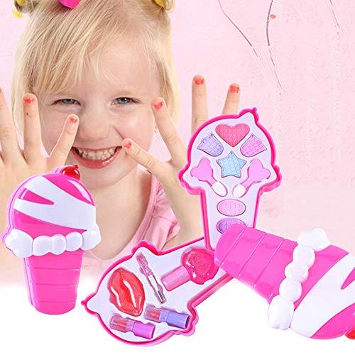 Honey MoMo Pretend Play Cosmetics Toy, Sch?ne M?dchen-Eiscreme-Form bilden Kosmetik Spiel Pretend...