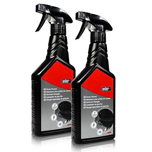 2x Weber 26104 Grillrost Reiniger 500 ml