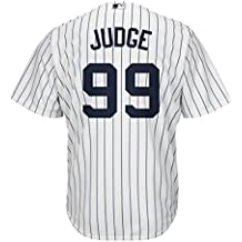Majestic Aaron Judge New York Yankees Uomo Home Replica Cool Base Player  Jersey f196050a1a4f