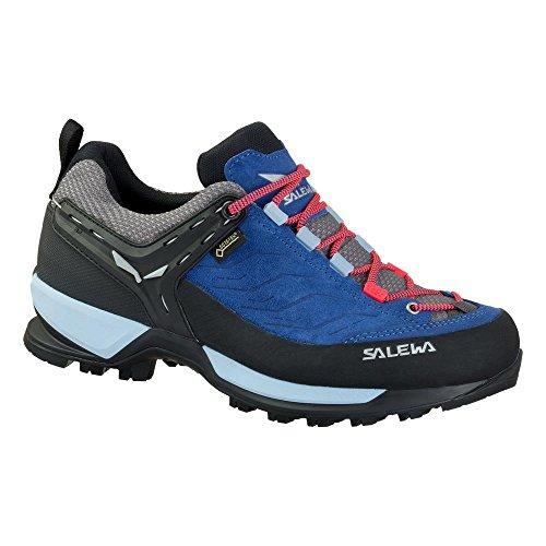 Salewa Damen Ws MTN Trainer GTX Trekking-& Wanderhalbschuhe, Blau (Dark Denim/Papavero 8673), 36 EU