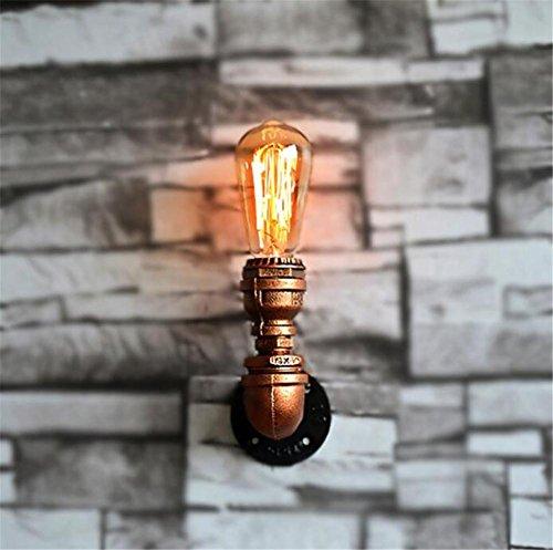 BIUODY Lampada da parete Tubi d'epoca industriale Apparecchi da parete