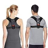 Eletorot Geradehalter zur Haltungskorrektur Posture Corrector Haltungstrainer Schulter Rückenstütze Rücken Haltungsbandage mit verstellbare Größe für Männer und Frauen,verstellbar & atmungsaktiv