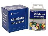 CHINCHETA COLORES 50 UNIDADES