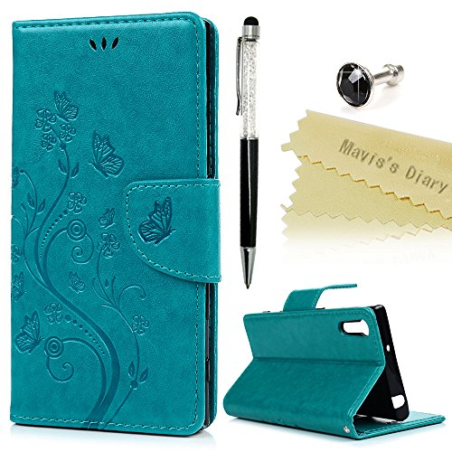 maviss-diary-sony-xperia-xz-case-premium-pu-leather-wallet-flip-case-with-detachable-hand-strip-butt