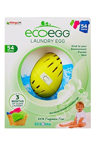 Ecoegg Wäscheei (54Wäschen), Fragrance Free, 54 Washes