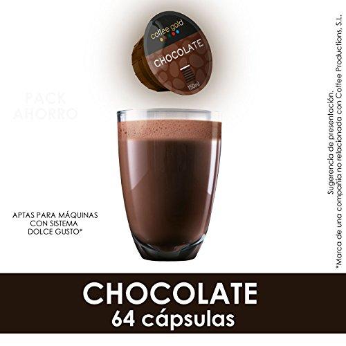CHOCOLATE | x64 - Aptas máquinas Dolce Gusto