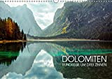 Dolomiten - Rundreise um Drei Zinnen (Wandkalender 2018 DIN A3 quer): Drei-Zinnen-Region in Südtirol (Monatskalender, 14 Seiten ) (CALVENDO Orte) [Kalender] [Apr 27, 2017] Thoermer, Val