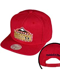 Mitchell & Ness NBA Denver Nuggets Wool Solid Snapback Cap