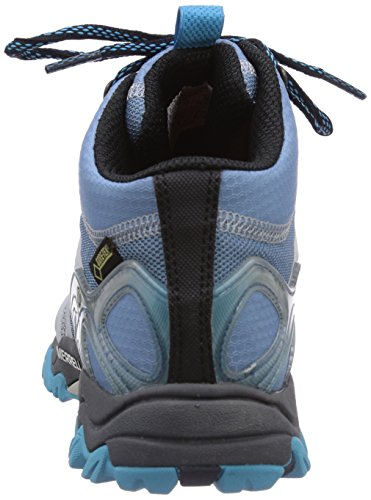 Merrell Grassbow Mid Sport Gtx, Chaussures de randonnée tige basse femme Bleu (Blue Heaven)