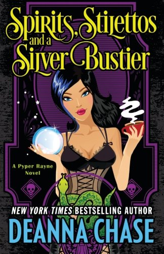 Spirits, Stilettos, and a Silver Bustier: Paranormal Mystery (Pyper Rayne) Black Womens Stiletto