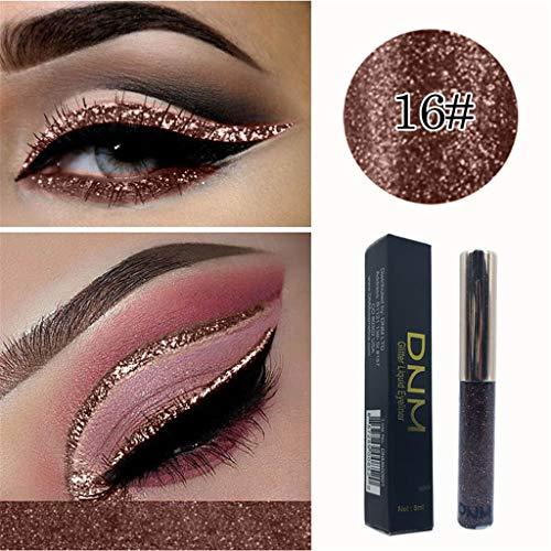 Mutter beste Geschenke für Frauen !!! Beisoug Buntes Make-up Glitter Pailletten Flüssiger...