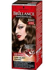 Brillance Glanz-Tönungs-Gel T862 Naturbraun, 3er Pack (3 x 60 ml)