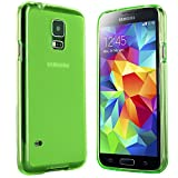 moodie Schutzhülle für Samsung Galaxy S5 Mini Hülle Silikon Case Cover in Grün