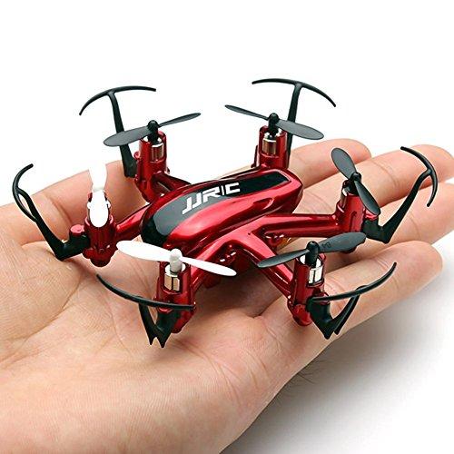 JJRC H20 RC Drone Quadrocopter 2.4GHz mit 4 Kanal, 6 Achsen Gyro, 3D-Flip,kopflos - modus (Rot)