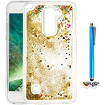 A9H Funda Transparente Dynamic Liquid Glitter Color Paillette Sand Quicksand arena movediza Star Back Cover Case para LG G4 Stylus2 LS775 shell -05HUA