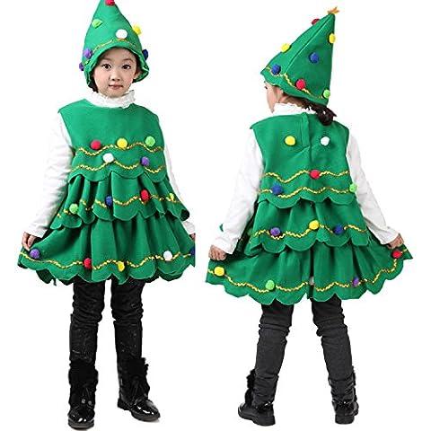Baby Mädchen Weihnachten Kleidung Weihnachtskostüm Strampler mit Hüte/Mütze Set
