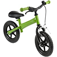 AWE® Childrens Kids de 12 pulgadas bicicleta de equilibrio, color verde