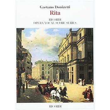 Rita Opera Completa Canto E Piano