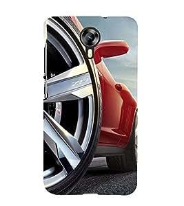 Fantastic Car 3D Hard Polycarbonate Designer Back Case Cover for Micromax Canvas Xpress 2 E313 :: Micromax Canvas Xpress 2 (2nd Gen)