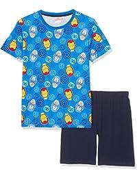 Avengers Assemble Garçon Pyjama court - bleu